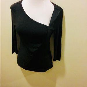 Venus slanted neck blouse